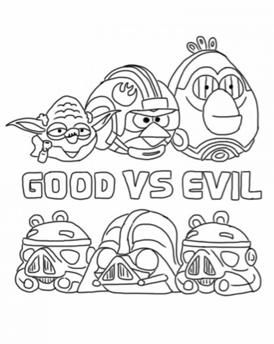 Angry Birds Star Wars 2 Coloring Pages Darth Maul Angry birds star    Angry Birds Star Wars Coloring Pages Darth Maul